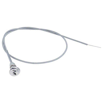 GMK4141523555 1955-1959 CHEV GMC PICKUP C/K AND SUBURBAN CHOKE CABLE WITH CHROME KNOB