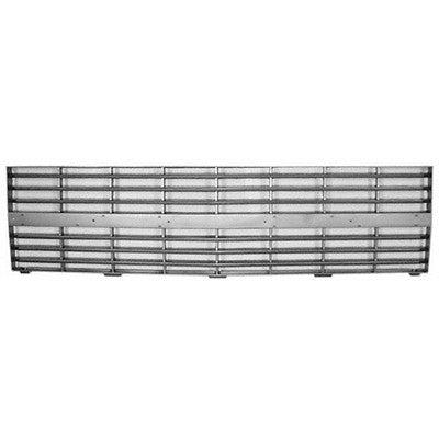 GM1200125 GRILLE- DARK SILVER- WITH DUAL HEAD LIGHT- CHEVY ONLY