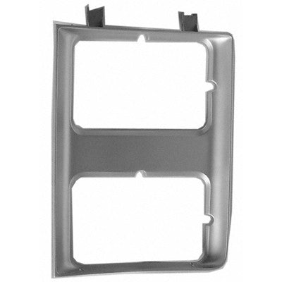 GM2512106 HEAD LIGHT DOOR- CHROME- WITH DUAL HEAD LIGHT S- DRIVER SIDE