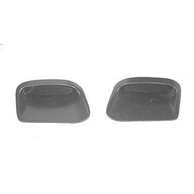 GMK433225568S 1968-1970 PONTIAC TEMPEST HOOD SCOOP INSERT PAIR WITHOUT RAM AIR