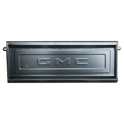 GMK494282563 1954-1986 GMC PICKUP C/K TAILGATE SHELL WITH GMC LETTERING FOR STEPSIDE PICKUPS- CAN FIT 1954-62 BUT HAS INCORRECT LOGO