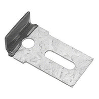 GMKHW2076 WINDSHIELD GLASS STOP CLIP- GALVANIZED WITH RUBBER COAT