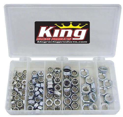 1/2in Steel Nut Kit 105pc