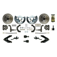 Manual Front Conversion w/ Master Cylinder & Valve, 2 Calipers, 2 Rotors & more