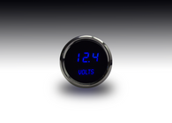"LED Digital Voltmeter  2 1/16"" 7 to 25.5 Volts w/chrome plated bezels"