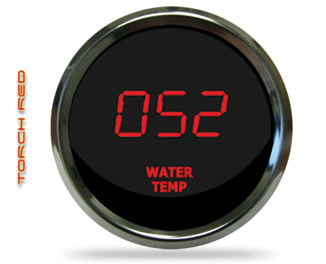 LED Digital Water Temp Gauge 2  1/16