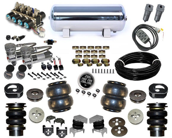2007-2014 Jeep Wrangler Plug and Play Air Suspension Kit