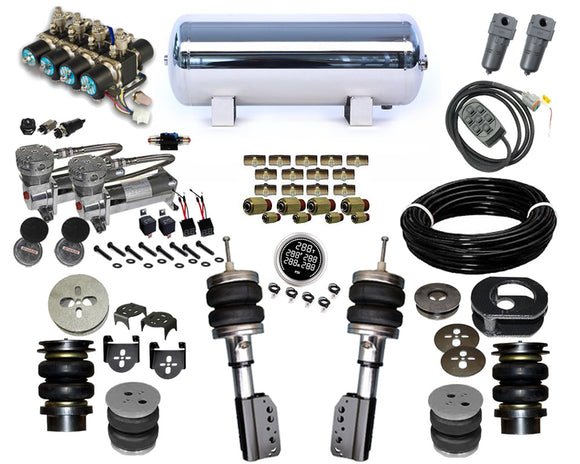 2007-2013 BMW X5 E70 Plug and Play Air Suspension Kit