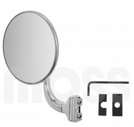 Quarter Light Peep Mirror, round 4 diameter, RH/LH, Set of Two