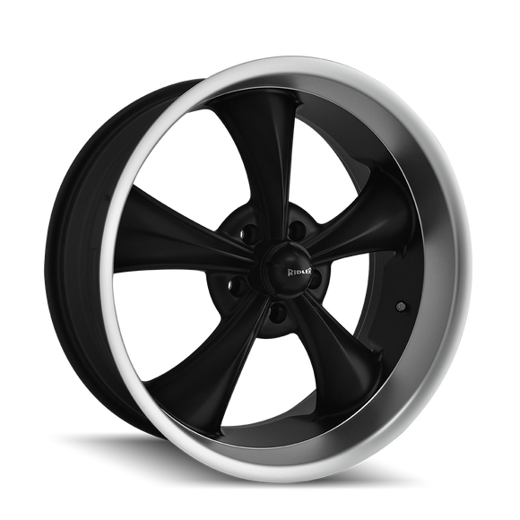 695 Series MATTE BLACK/MACHINED LIP