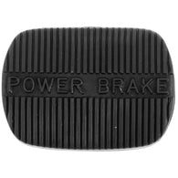 Power brake pedal pad with standard transmission for 58-65 Full-Size Chevrolet Biscayne,Bel Air,Impala, Caprice, 58-62 Corvette, 58 Del Ray