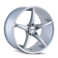 TR70 Series  SILVER/MILLED SPOKES