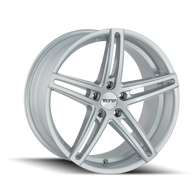TR73 Series  GLOSS SILVER/MILLED SPOKES