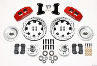 Front Disc Brake Kit 74- 78 Mustang 12.19 Drilled
