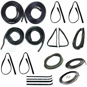 CWK 2110 77 1977 - 1979  F-100 Body - Complete Weatherstrip Kits