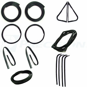 CWK 2111 67 1967 - 1970  F-100 Body - Complete Weatherstrip Kits
