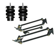1996-2000 Dodge Caravan, Voyager, Town & Country Rear Air Suspension, Bracket Kit & 4-Links (no fittings)