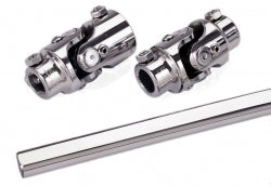 "Universal Joint Kit: SS 1"" DD Column, FR Pwr Rack w/ 22"" DD Shaft"