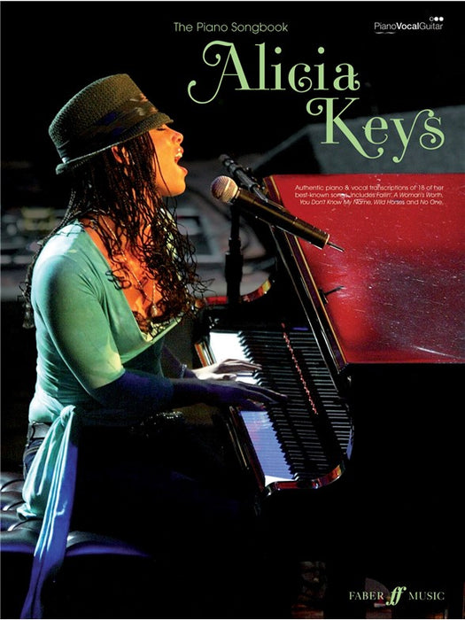 Alicia Keys-The Piano Songbook
