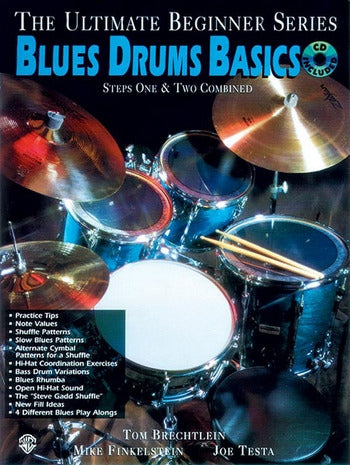 Blues Drum Basics (with CD)