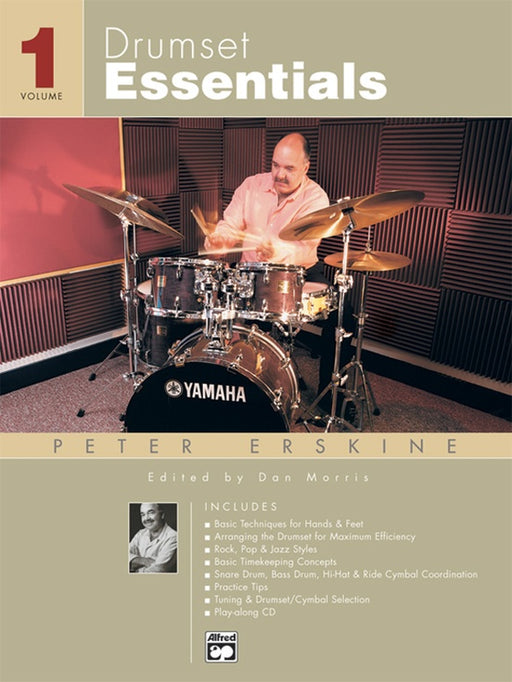 Drumset Essentials Volume 1