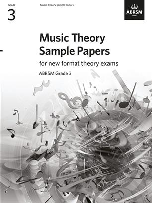 ABRSM Music Theory Sample Papers G3, new format