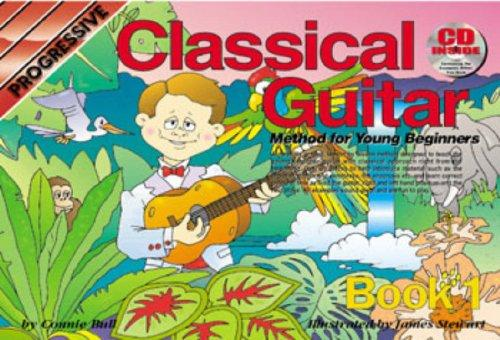 Progressive Classical Guitar Book 1 + CD