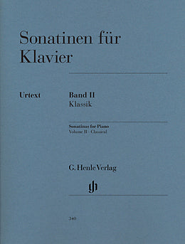Sonatinas for Piano Volume 2 Classical