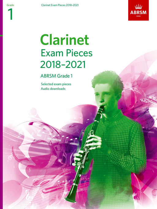 ABRSM Clarinet Exam Pieces Grade 1, 2018-2021