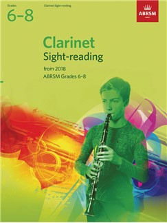 ABRSM Clarinet Sight-Reading Tests, Grades 6-8 from 2018