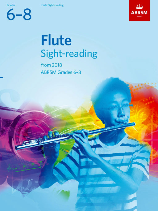 ABRSM Flute Sight-Reading Tests Grades 6-8  from 2018