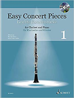 Easy Concerto Pieces For Clarinet