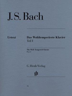 Bach, JS The Well-Tempered Clavier Book 1