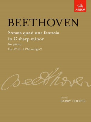 Beethoven Op. 27 No. 2 (Moonlight)