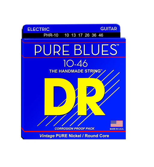 DR Pure Blues Nickel Guitar Strings Medium