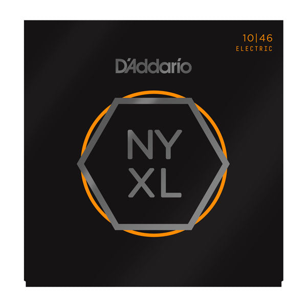 D'Addario NYXL1046 Electric Guitar Strings, Regular Light, 10-46
