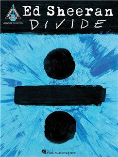 Ed Sheeran Divide TAB