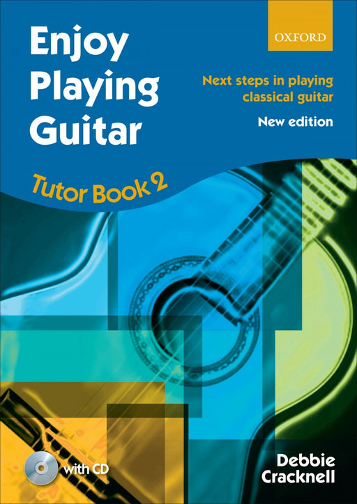 Enjoy Playing Guitar Tutor Book 2 + CD