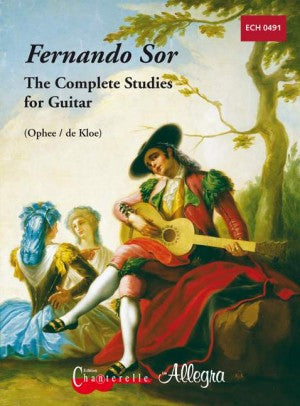 Fernando Sor The Complete Studies for Guitar