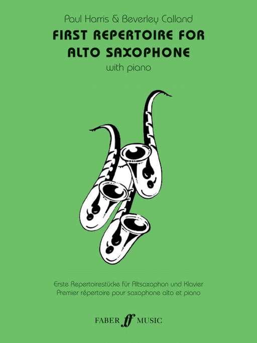 First Repertoire For Alto Saxophone, Paul Harris