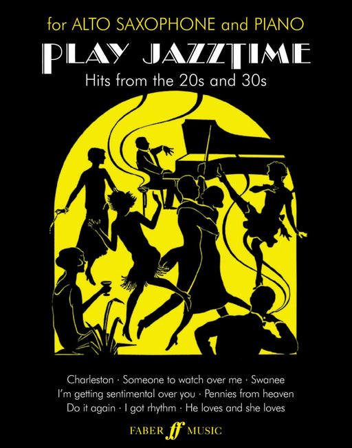 Play Jazz Time For Alto Saxophone