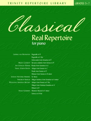 Classical Real Repertoire for Piano