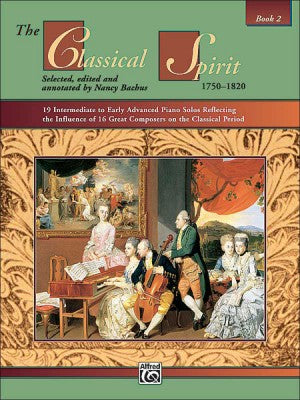 The Classical Spirit 1750-1820 Book 2 with CD