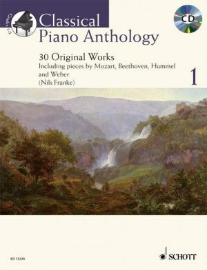 Classical Piano Anthology 1 with CD Franke