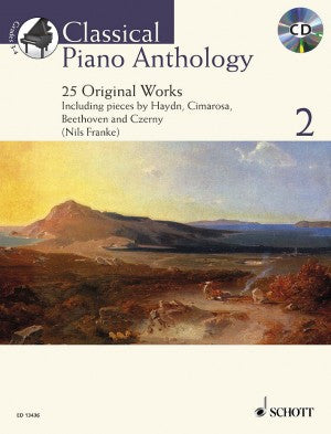 Classical Piano Anthology 2 with CD Franke
