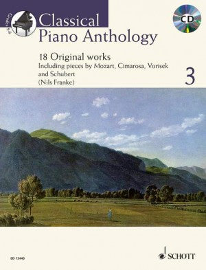 Classical Piano Anthology 3 with CD Franke