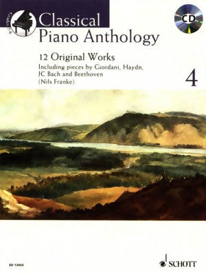 Classical Piano Anthology 4 with CD Franke