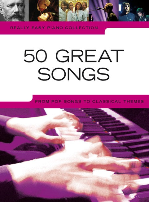 50 Great Songs Really Easy Piano Collection