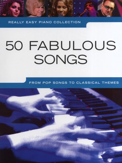 50 Fabulous Songs Really Easy Piano Collection