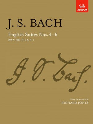 Bach, JS English Suites BWV 809, 810 & 811